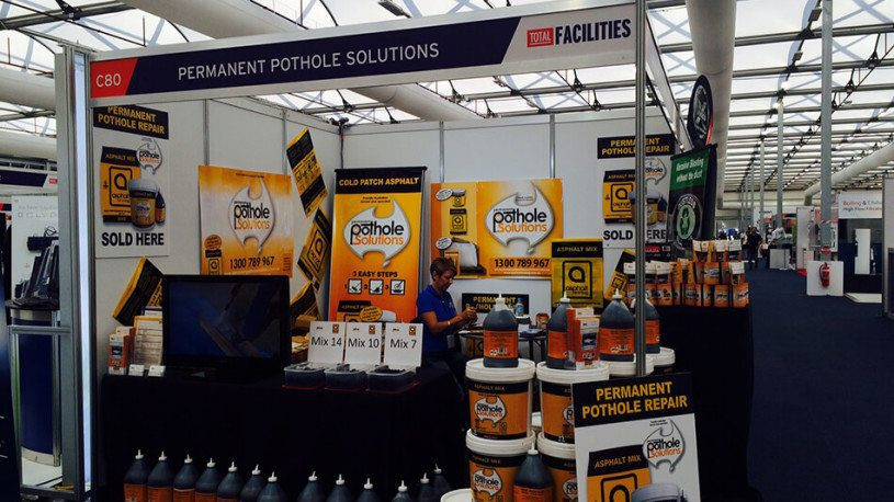 Permanent Pothole Solutions Expo Stand