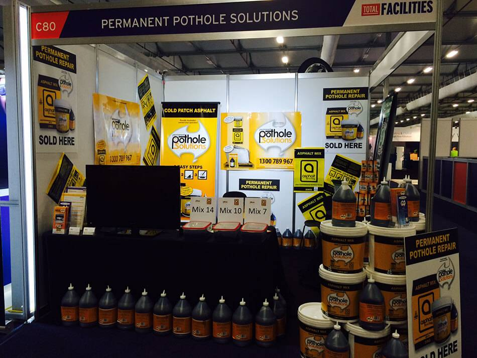 PPS Exhibition Stand - Permanent Pothole Solutions